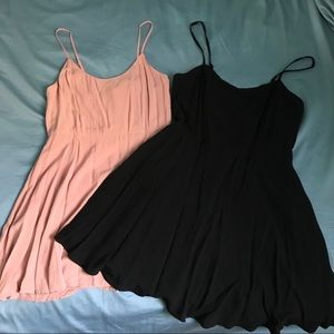 Bundle of dresses forever 21 size s and m
